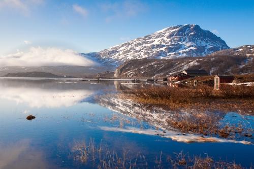 Красивый вид в Швеции