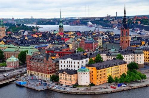 Берег Швеции