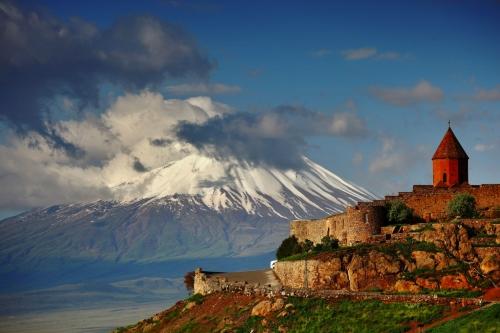 Красивый вид в Армении