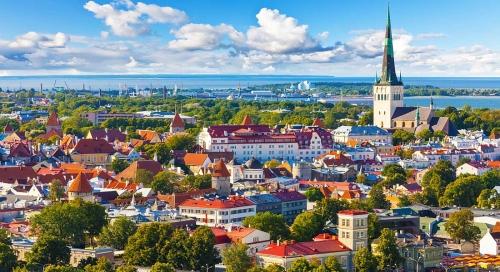 Красивый вид в Эстонии