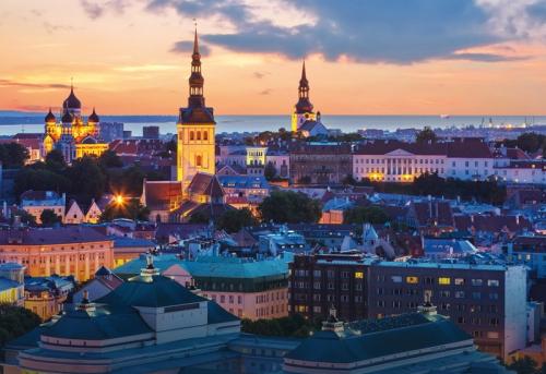 Вечерняя Эстония