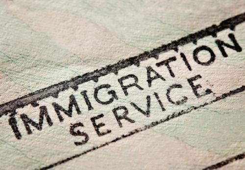 Знак иммиграционной службы