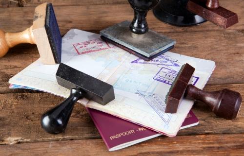 Паспорт с печатями