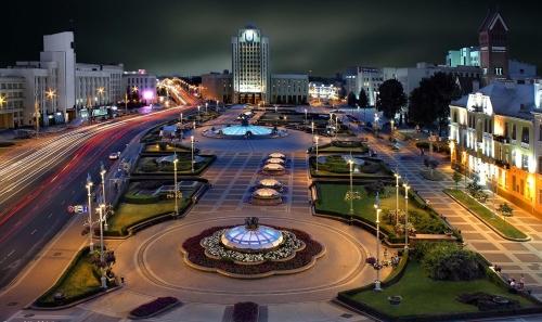 Площадь в Белоруссии