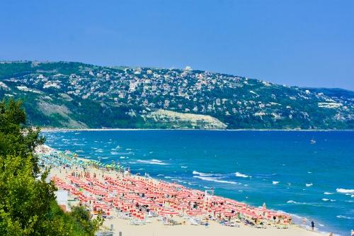 Пляж в Болгарии