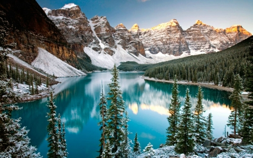Канадский пейзаж
