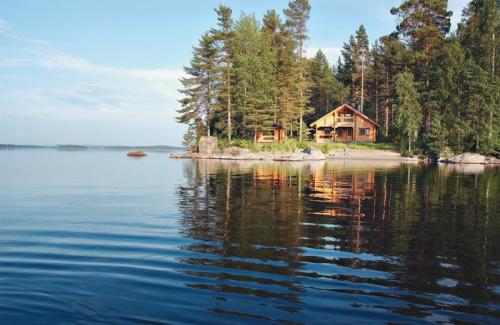 Красивый вид в Финляндии