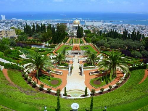 Красивый вид в Израиле