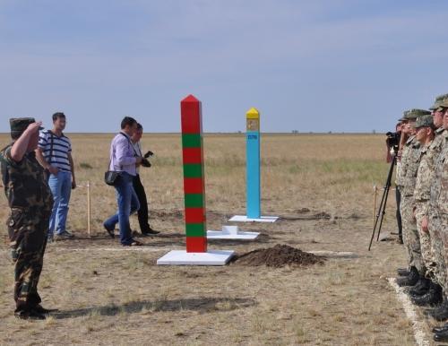 Граница Казахстана и России