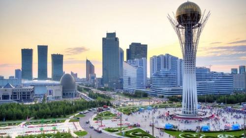 Красивый вид в Казахстане