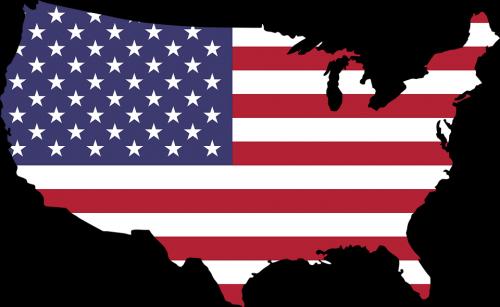 Карта штатов Америки