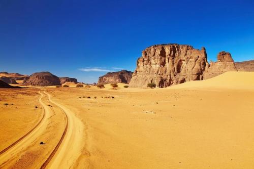 Пейзаж в Алжире