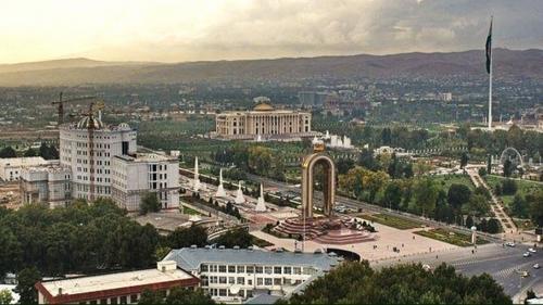 Красивый вид в Таджикистане