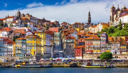 Красивый вид в Португалии