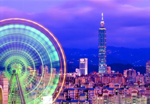 Ночной Тайвань