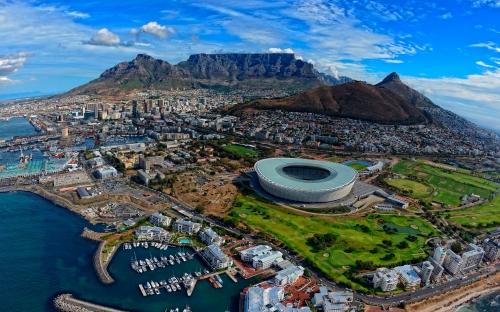 Красивый вид на ЮАР