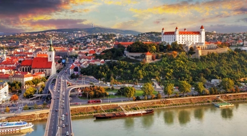 Красивый вид в Словакии
