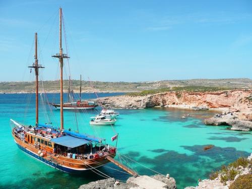 Морской пейзаж на Мальте