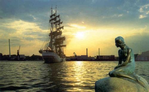 Порт в Копенгагене