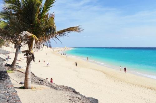Берег пляжа в Испании