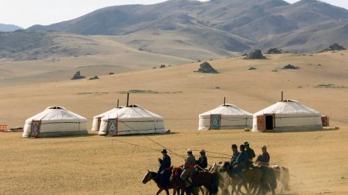 Красивый вид в Монголии