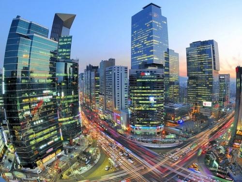 Город в Корее