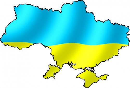 Территория и флаг Украины