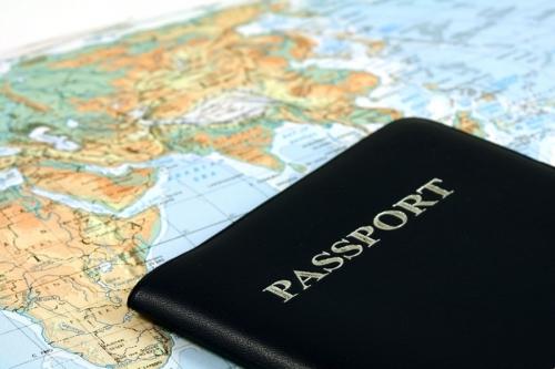Паспорт на карте мира