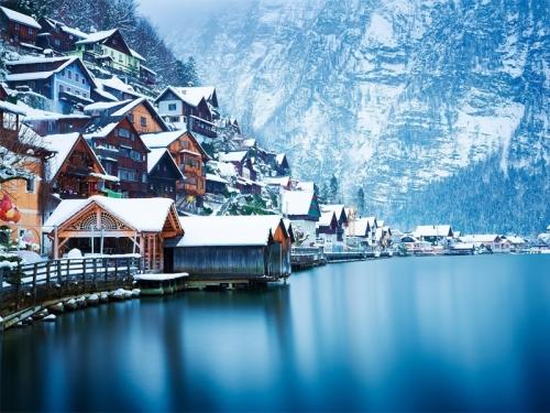 Пейзаж в Австрии