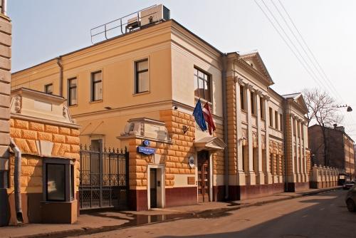 Здание визового центра Латвии