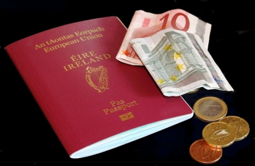 Ирландский паспорт