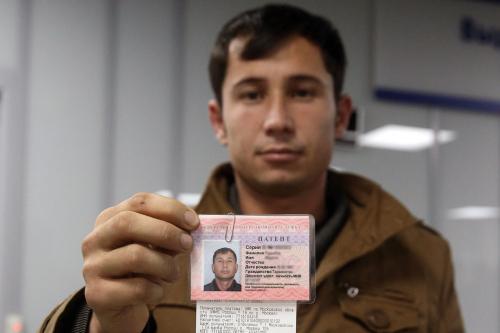 Мигрант с патентом