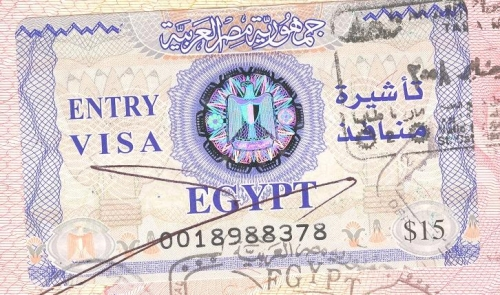 образец заполнения миграционной карты египет