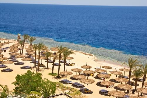 Вид на египетский пляж