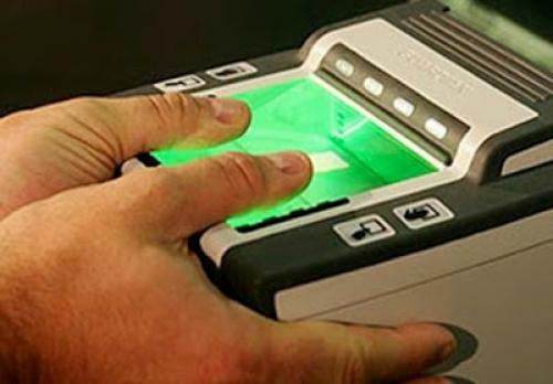 Снятие отпечатков для визы