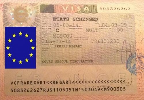 Шенгенская виза на пять лет