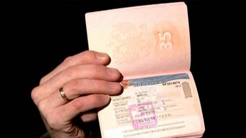 Паспорт с корейской визой
