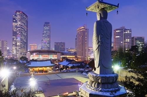Сеул - город в Корее