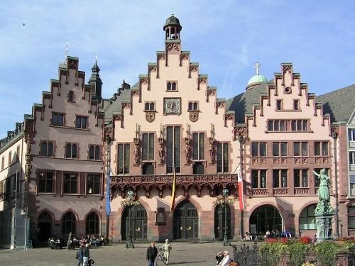 Франкфурт-на-Майне  - один из популярных городов Германии
