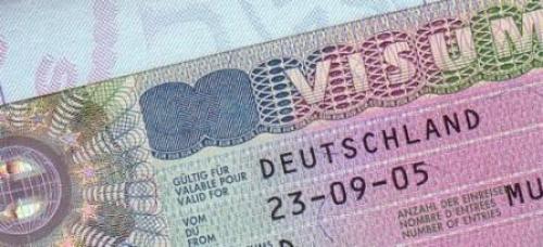 Шенгенская виза для Германии