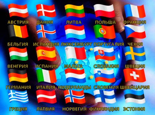 Страны, вступившие в шенген