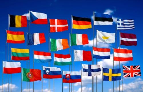 Флаги стран Шенгена